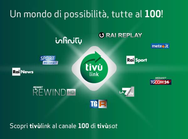 elenco canali satellitari TivùSat