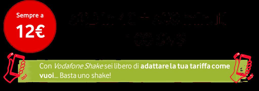 Vodafone Shake under 30